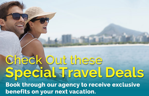Check Out these Special Travel Deals