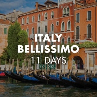 Italy Bellissimo - 11 Days